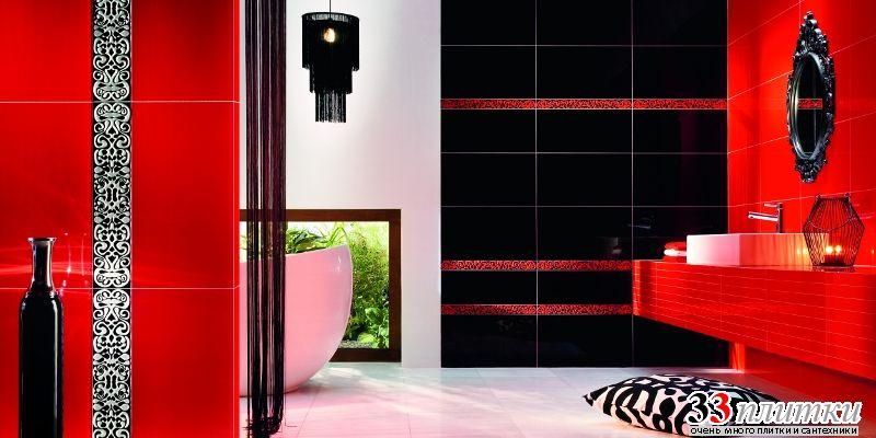 Чёрная плитка дизайн