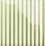 Decor Stripe Green 20x20