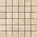 Absolute Mosaico Travertino Beige Lappato 30х30