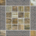 Metalwood Inserto Beige 15x15