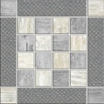 Metalwood Inserto Grey 15x15