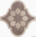 Curvytile Factory Blume Taupe 26,5x26,5