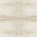 Aethernity Stone Composizione Rosone Beige 120x120