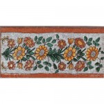 Decor Tiles Montserrat Marron 12x25