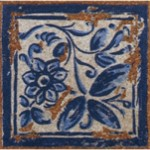 Decor Tiles Taco Antiga Azul 12x12