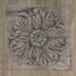 French Wood Formella Carve Larch